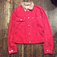 [USED] 90's  Ralph Lauren DENIM JKT RED!!!!