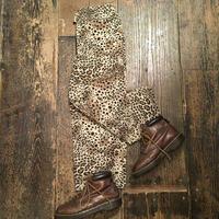 [USED] レオパード柄はんぱ丈パンツ