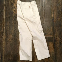[USED] WHITE Dickies . made  in USA.