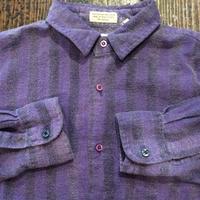 [USED] ストライプネルシャツ
