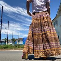 [USED] インド綿ロングスカート