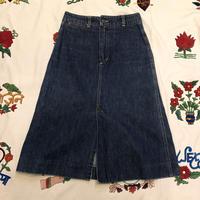 [USED] 70's スリットデニムスカート