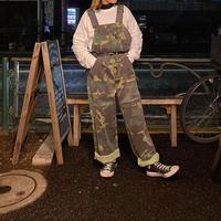 [USED]  ♡CAMOUFLAGE♡ OVERALL