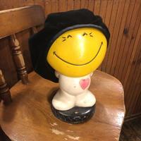 [USED] ベルベットベレー帽