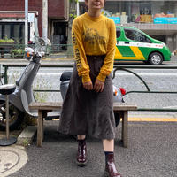 [USED] チャコールグレースカート