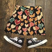 [USED] カラフルハートスカート