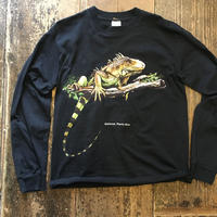 [USED] プエルトリコ  イグアナ ロンTee