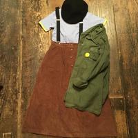 [USED] 秋色コーデュロイスカート