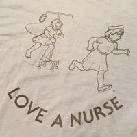 "[USED] ""LOVE A NURSE""  TEE"