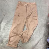 [USED] BEIGE CARGO PANTS!
