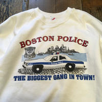 [USED] BOSTON POLICE  SWEAT