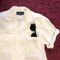 [USED] Ralph Lauren 開襟 WHITE Shirts