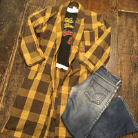 [USED] 60's~70's BRENT チェックガウン