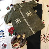 [USED]  かわいい刺繍♡Guatemala shirts