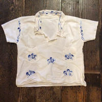 [USED] 刺繍シャツ