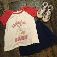 "[USED] vintage ""Worlds Best BABY"" ラグランTee"