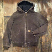 [USED] Carhartt PARKA  Youth-L BROWN
