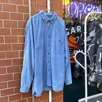 [USED] BLUEコーデュロイB.Dシャツ!
