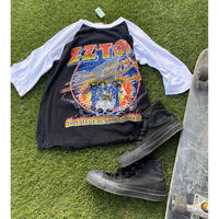 """[USED] """"ZZ TOP"""" VINTAGE パキTee"""