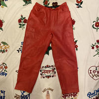 [USED] 真っ赤なEURO  LEATHER PANTS♡