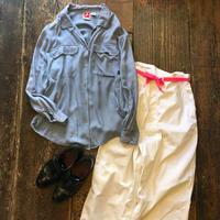 [USED] WHITE STAG レーヨンシャツ