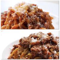 【送料込み】パスタ麺 2個 & バルサミコボロネーゼ・トラパニアマトリチャーナ 各1個/CL013
