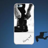スマホケースAICA-42 HangOut for men iPhone5/5s/5c/SE/6/6s/Android