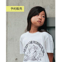 【予約販売】KIDS★Garland MONSTER TEE
