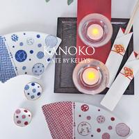 【セット割引2枚セット】A3サイズ★KANOKO転写紙 紅1枚+藍1枚 ¥2580→