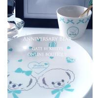【単品】Anniversary Bear転写紙/ブルー フェイス&ボディ