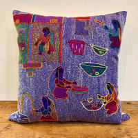 Sujini Cushion Cover 40*40 ( Women makes meals together)