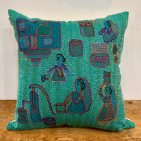 Sujini Cushion Cover 40*40 (Well and women)