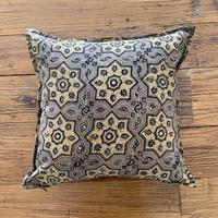 Hand Block Printed Cushion Cover 45*45 (Beige Star)