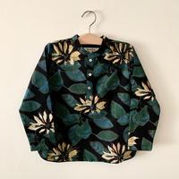 GAYA Renu, Short Kurta Shirt (Black Lotus)