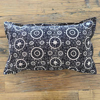 Hand Block Printed Cushion Cover 30*50 (Black Riyal)