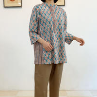 Sanganer Flower Print Tunic (Lilly & Stripe)