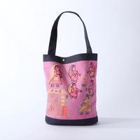 スージニバッグ(バゲット型・ピンク)