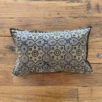 Hand Block Printed Cushion Cover 30*50 (Beige Star)