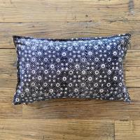 Hand Block Printed Cushion Cover 30*50 (Black Jewelry Box)