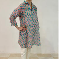 Sanganer Block Printed A Line Blouse (Lilly)