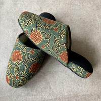 Hand Block Printed Slippers (Ajrakh Lotus)