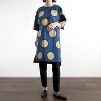 Hand Block Printed Mini Dress [Long]