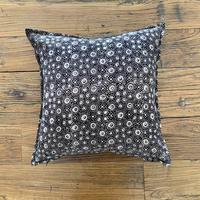Hand Block Printed Cushion Cover 45*45 (Black Jewelry Box)