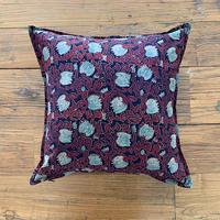 Hand Block Printed Cushion Cover 45*45 (Lotus Arabesque)