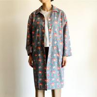 Sanganer Print  Spring Coat (Marigold)