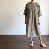 Hand Block Printed Dropped Shoulder Dress
