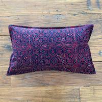 Hand Block Printed Cushion Cover 30*50 (Brown Star)