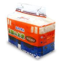 【令和元年産新米】特別パッケージ入 トロッコ電車 コシヒカリ(無洗米)【2合入】