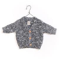 Play up (プレイアップ )  Knitted Jacket PA01/1AF11252 ニットカーディガン ネイビー