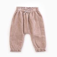 Play up (プレイアップ )  Corduroy Trousers  2AF11606  リボン コーディロイパンツ スモーキーピンク